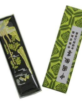 Chinesische-Reibetusche-Tusche-fr-Kalligrafie-Arbeiten-Farbton-Schwarz-0