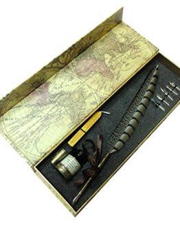 Schreibfeder-Set mit echter Feder von GC