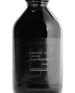 Sennelier-500ml-indischen-schwarze-Tinte-Chinesisch-Tinte-0