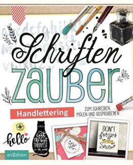 Schriftenzauber-Handlettering-zum-Schreiben-Malen-und-Ausprobieren-Malprodukte-fr-Erwachsene-0