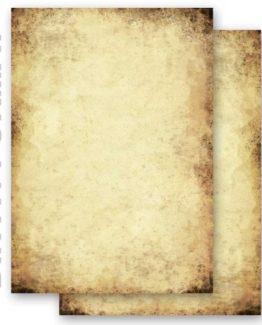 Briefpapier-Motivpapier-ALTES-PAPIER-Beidseitig-50-Blatt-DIN-A4-90gm-0