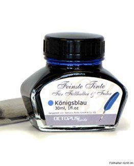 Kalligraphie Tinte königsblau