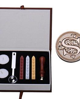 Ming-Siegelstempel-Set-mit-lateinischen-Buchstaben-Vintage-Look-Messing-Siegel-mit-Rosenholz-Griff-mit-Siegelwachs-Buchstaben-A-Z-erhltlich-Type-S-0